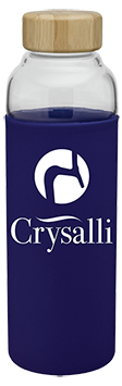Crysalli Glass Bottle